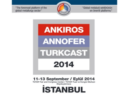 Ankiros 2014 - 12th International Iron-Steel And Casting Technology, Machinery And Products Trade Fair