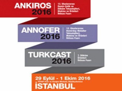 Ankiros 2016 13th International Iron and Steel Casting Technologies, Machinery and Products Trade Fair